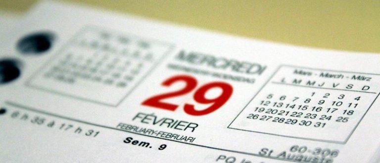 Article : 29 février particulier…