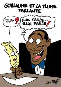 Coup de Plume de Jeff Ikapi